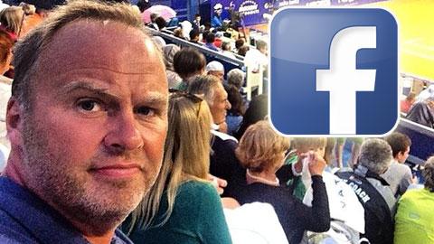 Tuyển trạch viên M.U mất việc vì Facebook