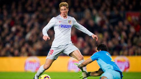 Torres có thể đá chính trong trận derby Madrid đêm nay