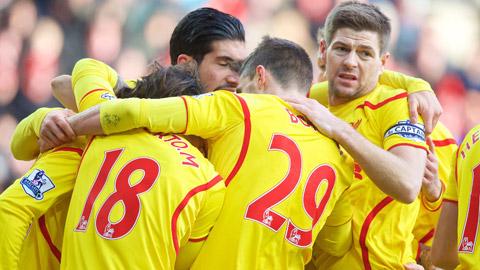 Liverpool sẽ du đấu châu Á trong Hè 2015
