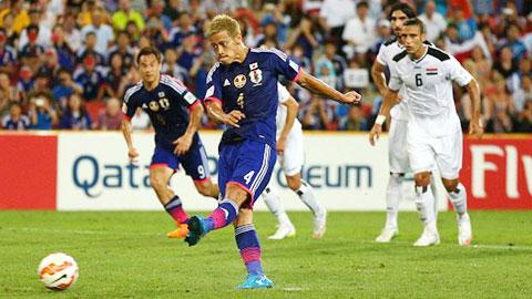Bảng D Asian Cup 2015: Đánh bại Iraq, Nhật Bản rộng đường vào tứ kết