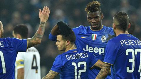 Juventus 6-1 Verona: Lão bà tiến vào tứ kết