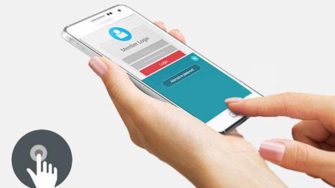 Galaxy S6 của Samsung sẽ có Touch ID như của Apple