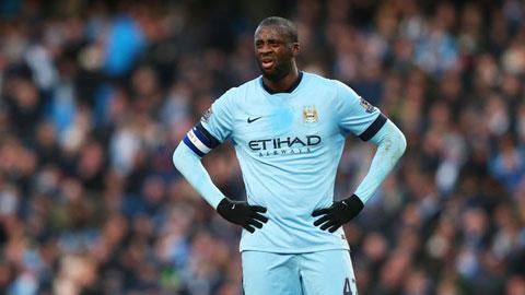 Yaya Toure vắng mặt là điều tốt cho Man City?