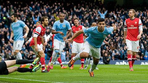 4 lí do trận Man City – Arsenal có nhiều bàn thắng