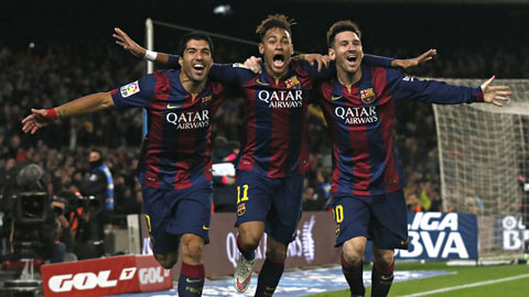 Barca: M-N-S đã định hình phong cách