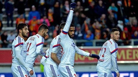 Vòng 21 Ligue 1: Lyon củng cố ngôi đầu