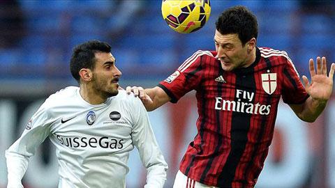 Milan 0-1 Atalanta: Thêm một cú sốc