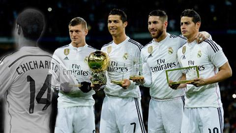 Chicharito: Người vô hình ở Real Madrid