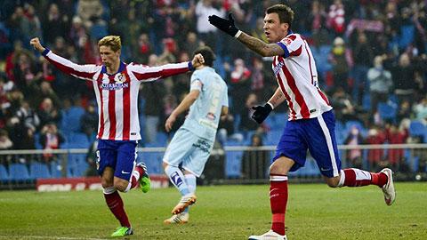 Atletico 2-0 Granada: Thử nghiệm hỏng vẫn thắng