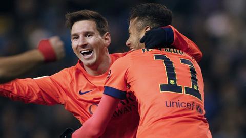 Messi áp sát kỷ lục lập hat-trick của Ronaldo ở La Liga