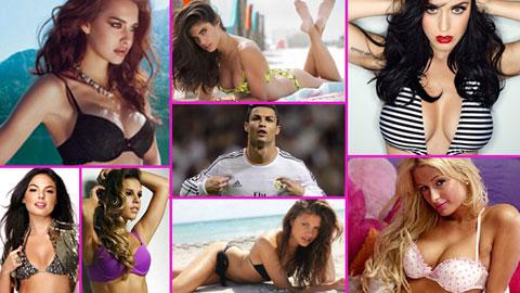 11 người đẹp đủ sức thay thế Irina Shayk trong trái tim Ronaldo