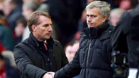 Rodgers và Mourinho: Từ bạn bè thành địch thủ