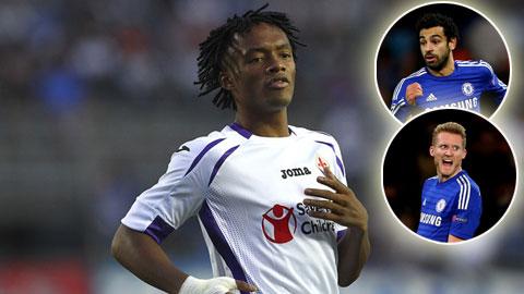 Chelsea tống khứ Schuerrle và Salah để tậu Cuadrado