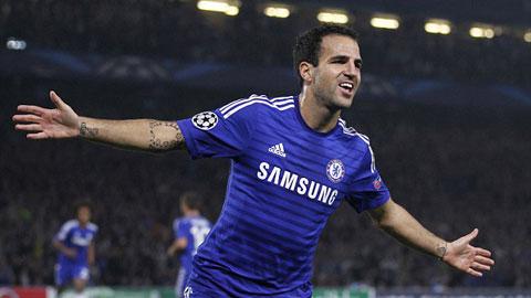 Chelsea coi chừng: Fabregas luôn sa sút từ tháng Giêng