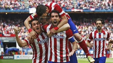 Chưa đấu, Atletico đã thắng!