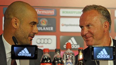 Bayern Munich không vội gia hạn với HLV Guardiola