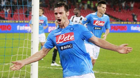 03h00 ngày 23/1, Napoli vs Udinese: Khách không có cửa!