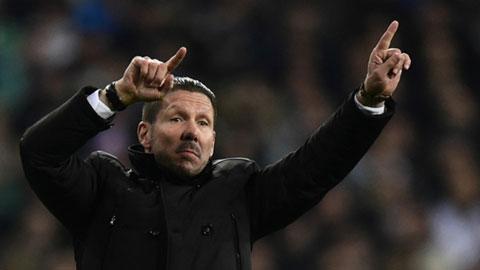 HLV Simeone tin Atletico có thể lật ngược tình thế trước Barca