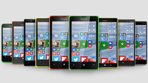 Những mẫu Lumia nào cho nâng cấp lên Windows 10?