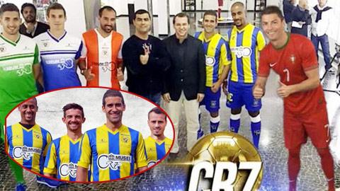 CR7 tài trợ áo đấu cho đội bóng quê nhà