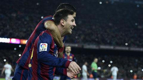 Messi tự tạo và tự dập cơn khủng hoảng ở Nou Camp