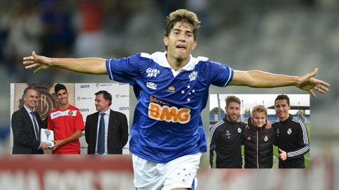 Real có thêm Lucas Silva: Được mùa