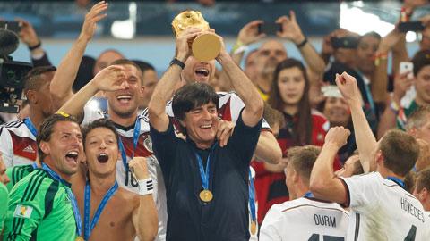 IFFHS bầu chọn HLV trưởng ĐTQG xuất sắc nhất năm 2014: Joachim Loew xuất sắc nhất thế giới