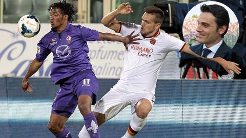 02h45 ngày 26/1, Fiorentina vs Roma: Tiểu phi cơ phá dớp