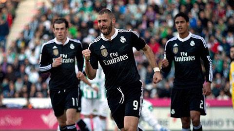 Cordoba 1-2 Real Madrid: Benzema giải hạn, Real gặp may!