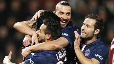 03h00 ngày 26/1, St.Etienne vs PSG: Đánh sập hang quỷ