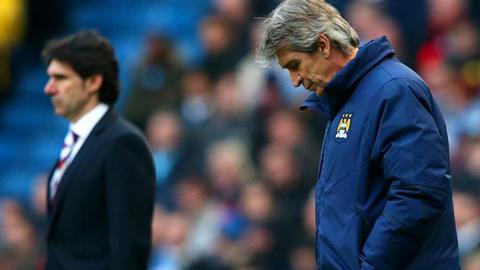 Pellegrini bác bỏ chuyến đi đến UAE là lý do Man City thua Boro