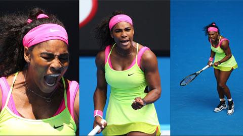 Rửa hận thành công, Serena Williams vào tứ kết Australian Open