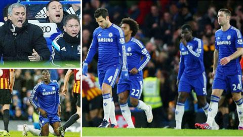 Chelsea: Cú sốc trước đại chiến