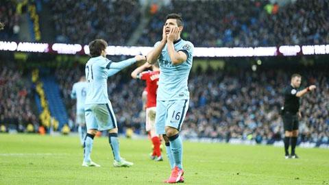 Tiền đạo Man City không biết ghi bàn