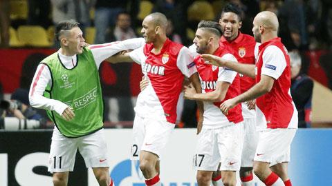 Monaco bất bại 12 trận liên tiếp: Ngôi sao là... cả đội bóng!
