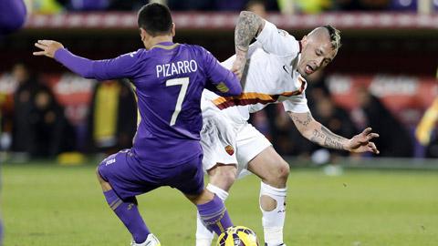 Fiorentina 1-1 Roma: Fio chia điểm vì