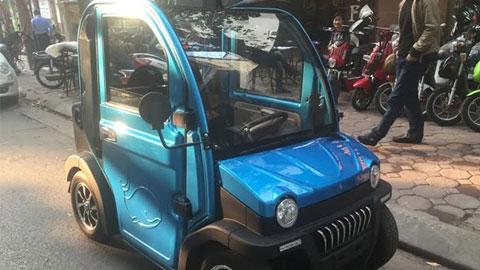 Ôtô chạy điện rao giá 70 triệu đồng xuất hiện ở Hà Nội