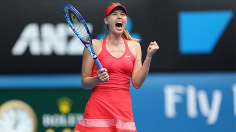 Hạ Bouchard, Sharapova tiến vào bán kết Australian Open