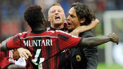 """02h45 ngày 28/1, Milan vs Lazio: Pippo chưa thể """"chết""""!"""