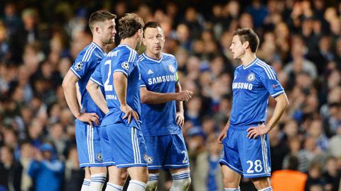 Hàng thủ Chelsea mất dần chất thép