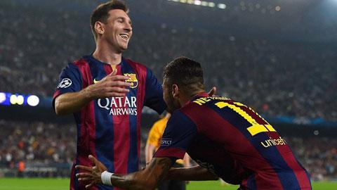 Messi & Neymar ghi bàn nhiều hơn 16 CLB Liga