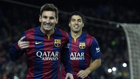 Ronaldo bị treo giò là cơ hội để Messi bứt phá