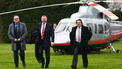 Về hưu, Sir Alex vẫn kiếm 100.000 bảng/ngày từ M.U