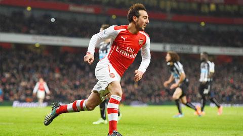Arsenal: Bây giờ là thời của Cazorla!