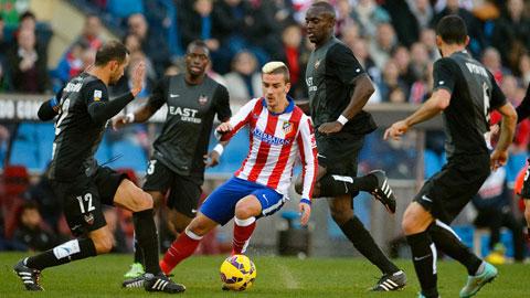 Bây giờ, Griezmann mới là... Torres!