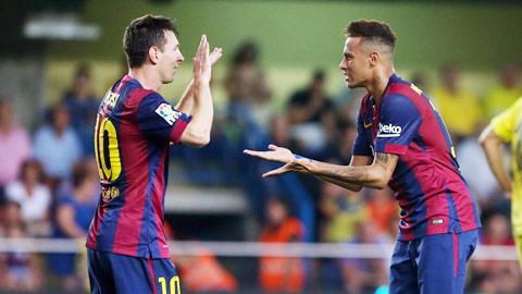 """Neymar cố """"nịnh đầm"""", Messi vẫn làm kiêu"""