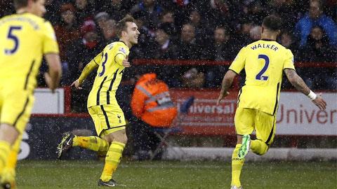 "Sheffield Utd 2-2 Tottenham (chung cuộc 2-3): Eriksen cứu ""Gà trống"""