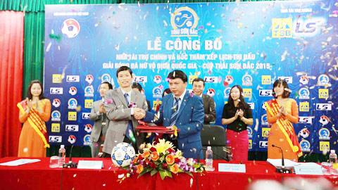Thái Sơn Bắc tiếp tục đồng hành cùng giải VĐQG nữ