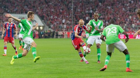 Wolfsburg 4-1 Bayern Munich: Hùm xám sa cơ tại Volkswagen