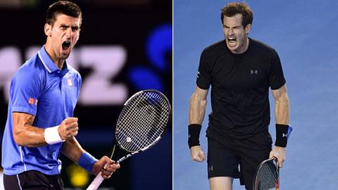 Novak Djokovic vs Andy Murray: Lần đầu tiên cho Murray?